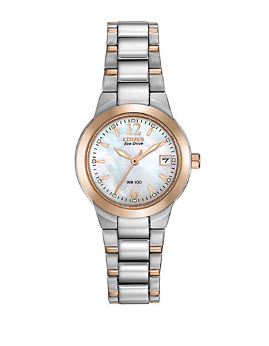 CITIZENLadies Eco-Drive Two-Tone Watch