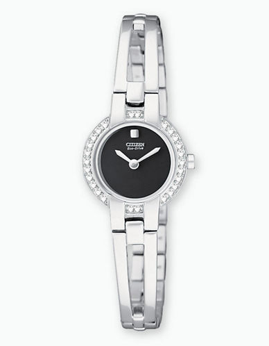 Ladies' Stainless Steel Bangle Watch