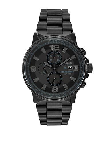 CITIZENMens Nighthawk Chronograph Watch