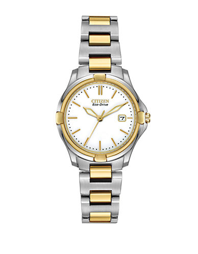 CITIZEN Ladies Two-Tone Eco-Drive Watch