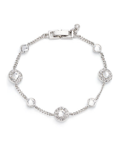 GIVENCHY Crystal Chain Bracelet