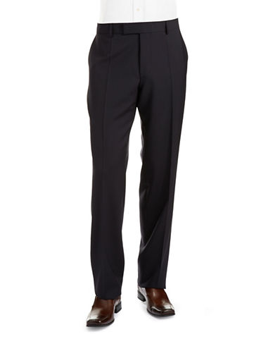 HUGO BOSS Jeffrey US Classic Fit Flat Front Dress Pants