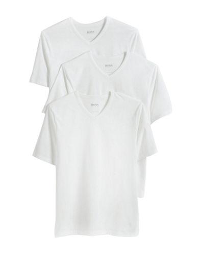 HUGO BOSSThree-Pack Cotton V-Neck T-Shirts