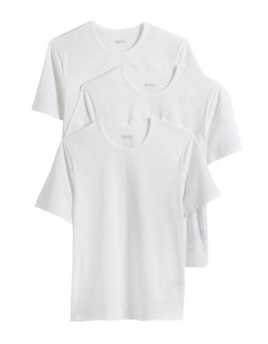 HUGO BOSSThree-Pack Cotton Crewneck T-Shirts