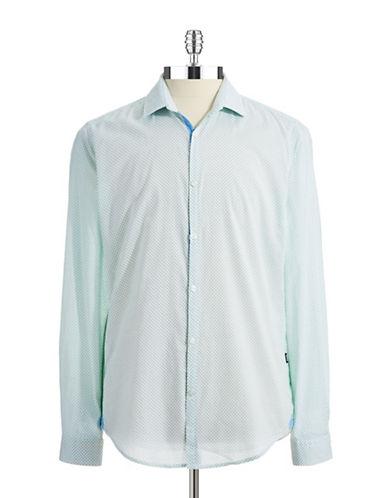 HUGO BOSSPancho Slim Fit Patterned Sport Shirt