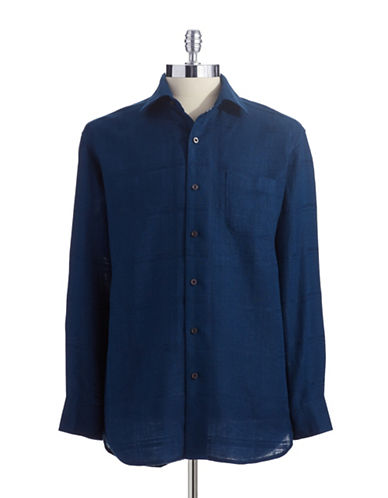 TOMMY BAHAMAMonte Carlo Linen Button-Down Shirt