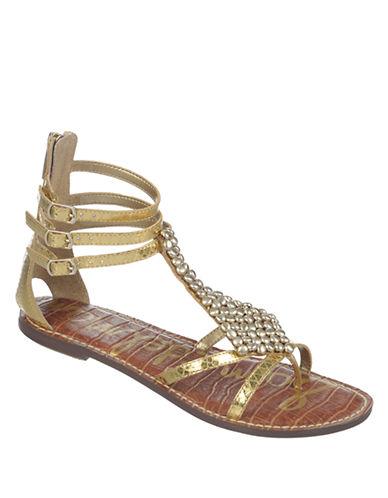 SAM EDELMANGinger Faux Leather Sandals