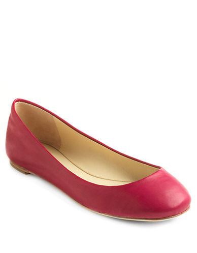 VERA WANG LAVENDERLara Leather Ballet Flats