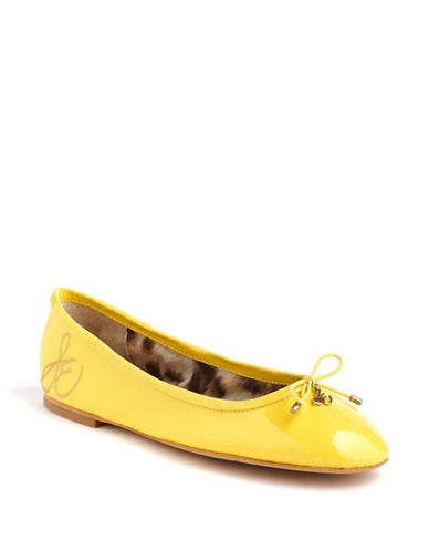 Felicia Patent Leather Ballet Flats