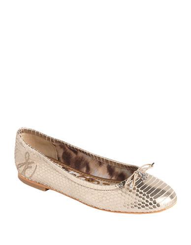 SAM EDELMANFelicia Leather Ballet Flats