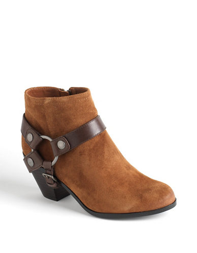 SAM EDELMANLandon Suede Leather Ankle Boots