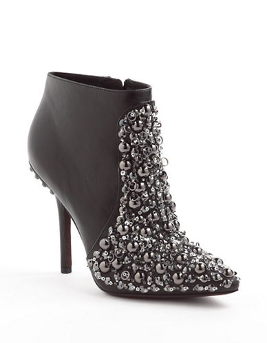 VERA WANG LAVENDERBeacon Leather Ankle Boots