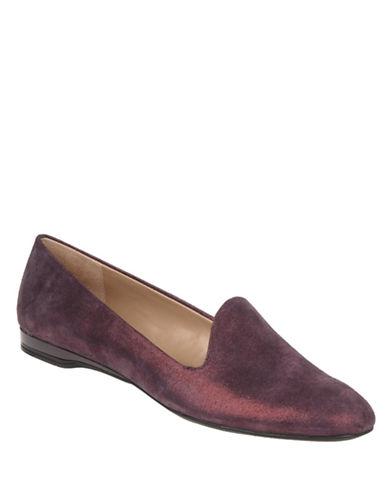 Shop Franco Sarto online and buy Franco Sarto Garnet Suede Metallic Flats shoes online