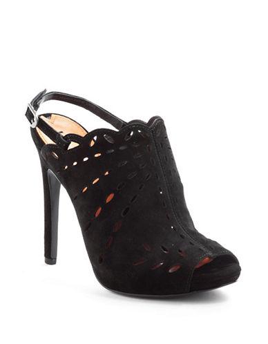 VIA SPIGANellie Perforated Suede Platform Sandals