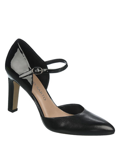 FRANCO SARTO Trident Patent Leather Pumps