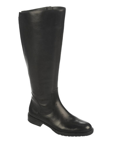 FRANCO SARTOTrooper Wide Calf Leather Boots