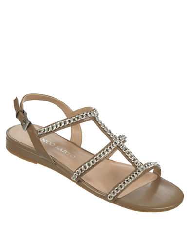 FRANCO SARTO Ghost Leather Sandals