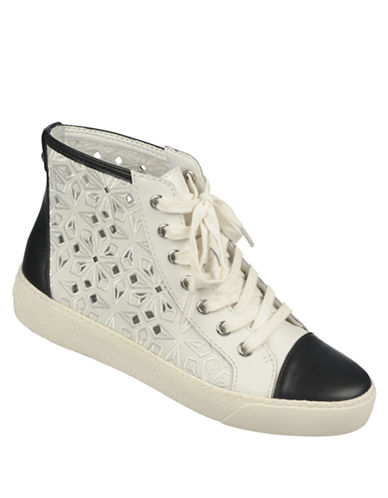 SAM EDELMAN Branson Leather Sneakers