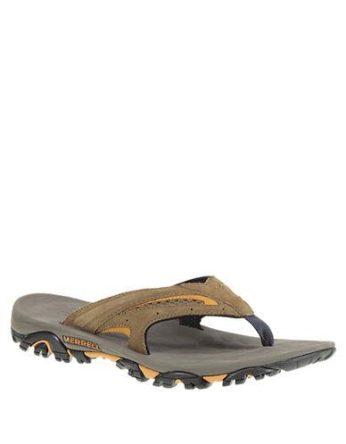 MERRELLMoab Drift Flip Leather Thong Sandals