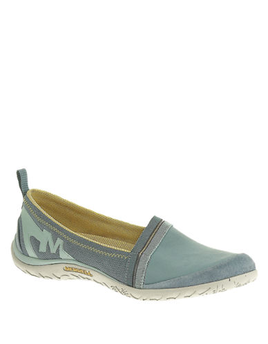 MERRELL Enlighten Awake Mesh and Leather Flats