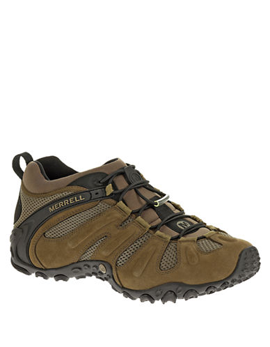 MERRELL Chameleon Prime Stretch Leather Sneakers