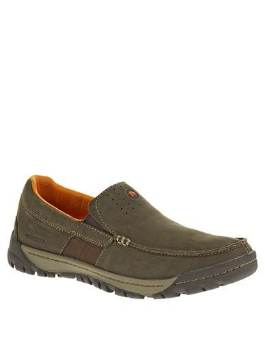 MERRELLTraveler Point Leather Moc Loafers