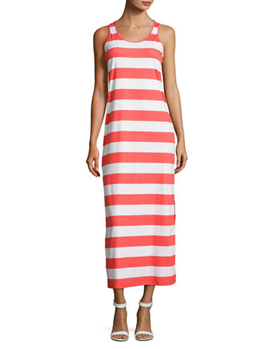 Rochie lungă MICHAEL KORS Striped