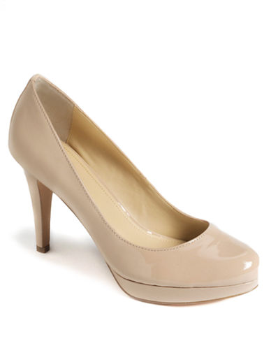 Pearly Platform Pumps