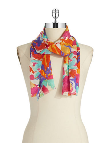 LAUREN RALPH LAUREN Silk Fashion Scarf