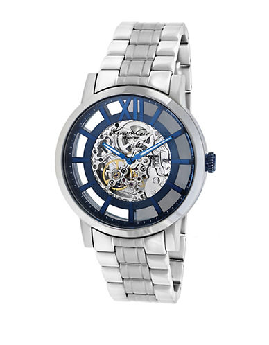 KENNETH COLEMens Automatic Skeleton Dial Watch