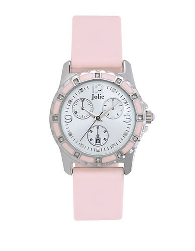 JOLIELadies' Crystal Chronograph Watch