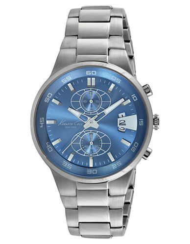 KENNETH COLEStainless Steel Chronograph Watch