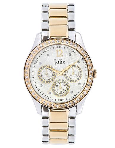 JOLIELadies Two-Tone Chronograph Glitz Watch