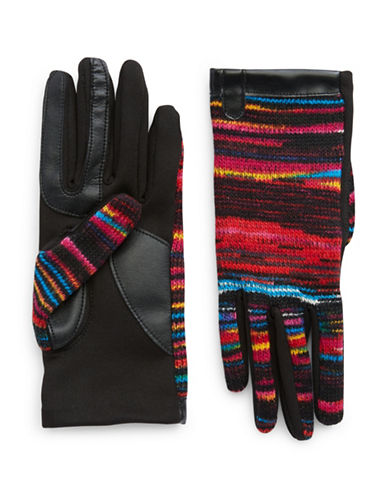 Isotoner Woven Tech Gloves