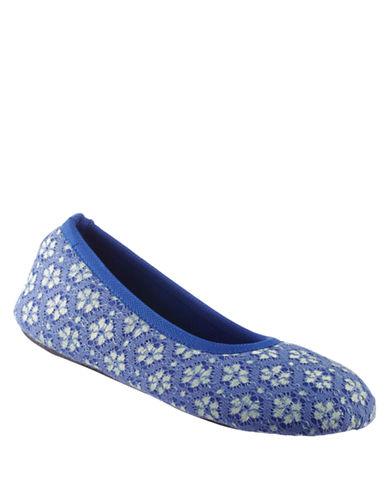 ISOTONERSignature Cabanas Lace Ballerina Slippers