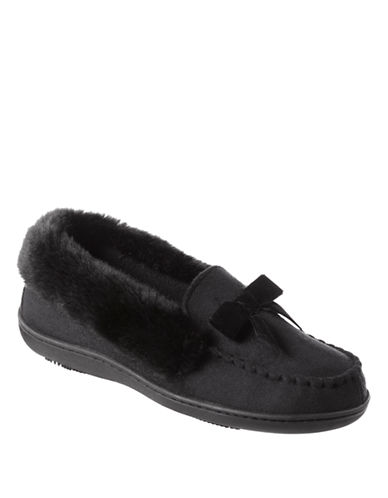 ISOTONERSignature Woodlands Microsuede Moccasin Slippers