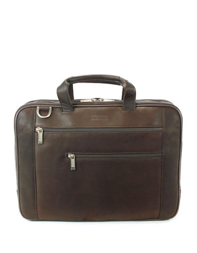 KENNETH COLE REACTION Leather Laptop Bag