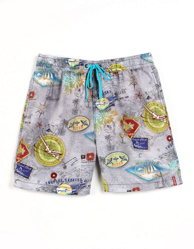 Lay Of The Land Swim Trunks