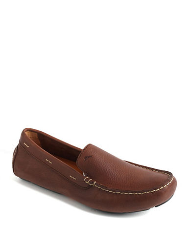 TOMMY BAHAMA Pagota Leather Driving Moccasins
