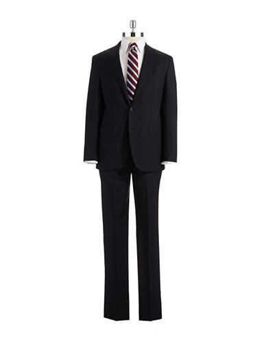 IKE BY IKE BEHAR Classic Fit Two-Piece Wool Suit