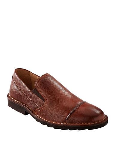 TOMMY BAHAMAGlenrove Leather Slip-Ons