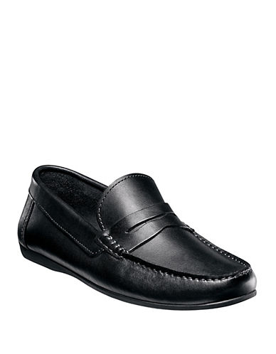 FLORSHEIM Jasper Leather Penny Loafers