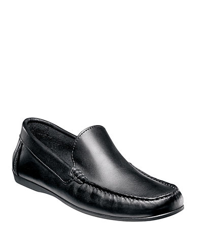 FLORSHEIMJasper Venetian Leather Driver Moccasins