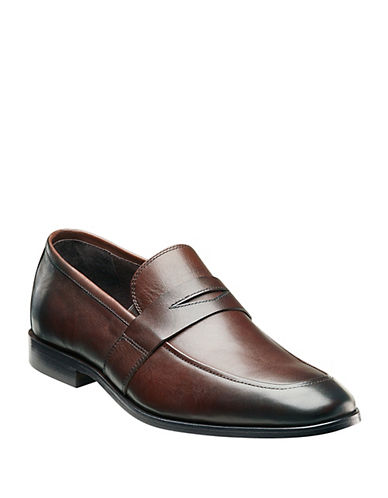 FLORSHEIM Jet Leather Penny Loafers