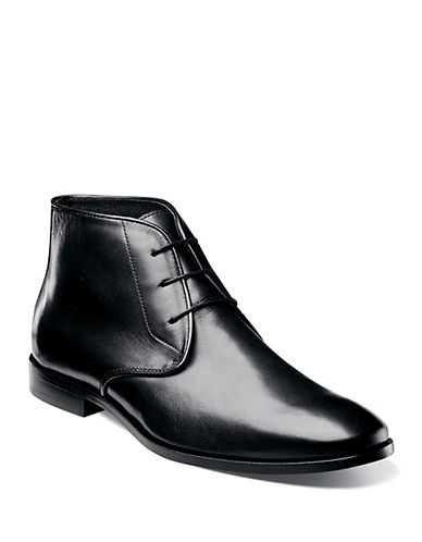 FLORSHEIM Jet Leather Chukka Boots