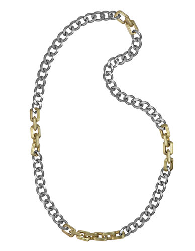 SAM EDELMANTwo-Tone Chain Link Necklace