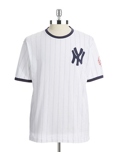 Upc 026093045292 Red Jacket New York Yankees Pinstripe T Shirt