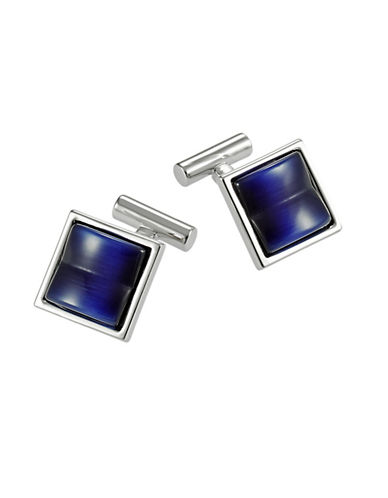 BLACK BROWN 1826Patterned Cuff Links