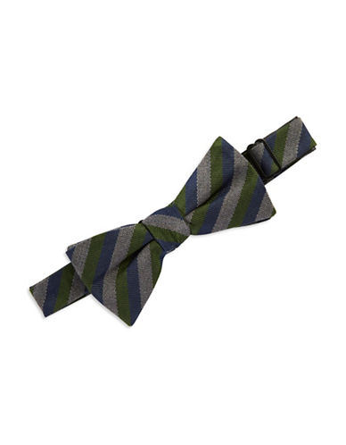 VINCE CAMUTO Silk Striped Bow Tie