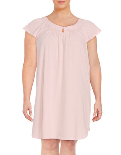 Plus Knit Nightgown plus size,  plus size fashion plus size appare